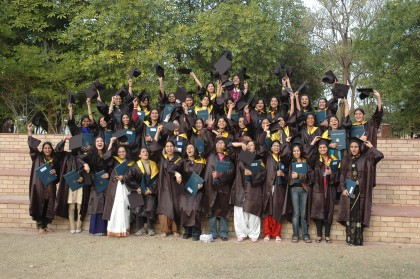 Merriment with Emotions of Colours;Foundation Day Celebrations at Mody University
