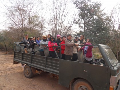Moments amongst nature!-FASC students of Mody University of Science and Technology visited the Ranthambore National Park