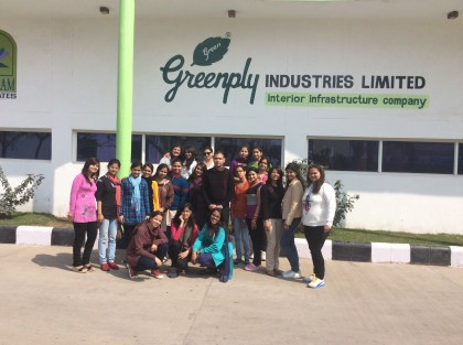 IMG 2892 420x313 Visit to Himachal to explore knowledge and experience world beyond books; 7 Days Excursion cum Industrial tour for COBMEC student of Mody University