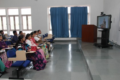 Enhancement of Teaching methods for a better education; Faculty Induction Training Programme conducted by NITTTR, in association with Mody University