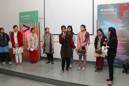 Diversity on it's wheels-Accenture Diversity Zone at Mody University