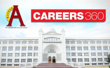 Achieving rank 'AAA' by Careers360, Mody University of Science and Technology now one of the 1000 best engineering colleges of India