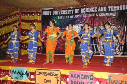 Celebration with colours and culture in Tarang, a cultural event organized by Mody University