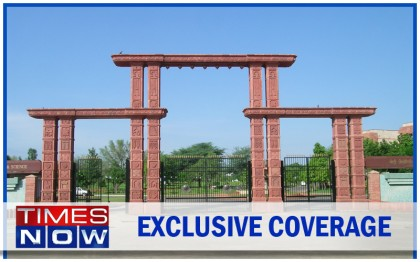 Captured into frame, Mody University of Science and Technology got covered by Times Now