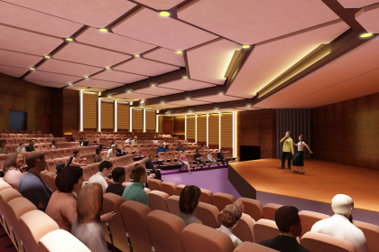 auditorium 3 420x279 A Platform to showcase Talents! Mody University is about to build a 50 Crore Auditorium Complex at the campus