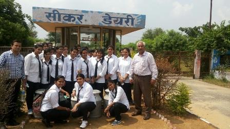 Saras Dairy Palsana Industrial Visit: FASC Students Visit Saras Dairy, Palsana