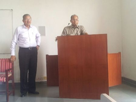 mody 1 Guest Speaker Prof. (Dr.) G.P. Verma at our University