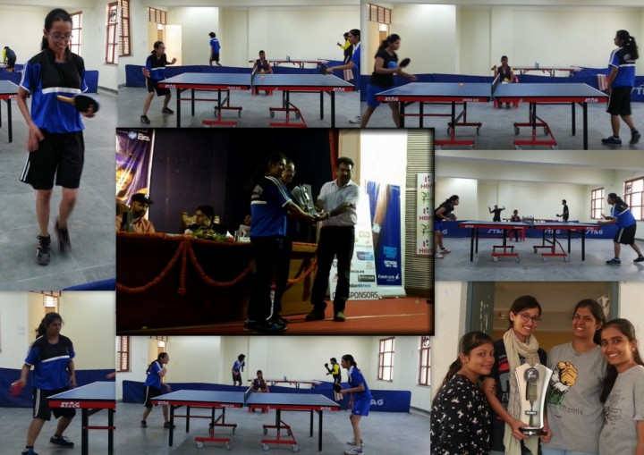 FET Annual Sports meet 2014 winners Table tennis 720x509 Mody University Students shine in 30th All India Annual Sports Meet 2014