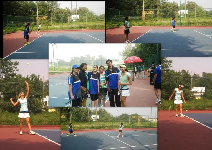 FET Annual sports meet 2014 winnerslawn tennis 720x509 Mody University Students shine in 30th All India Annual Sports Meet 2014