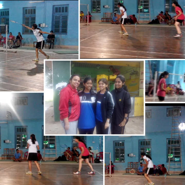 FET Annual sports meet awards Badminton 720x720 Mody University Students shine in 30th All India Annual Sports Meet 2014
