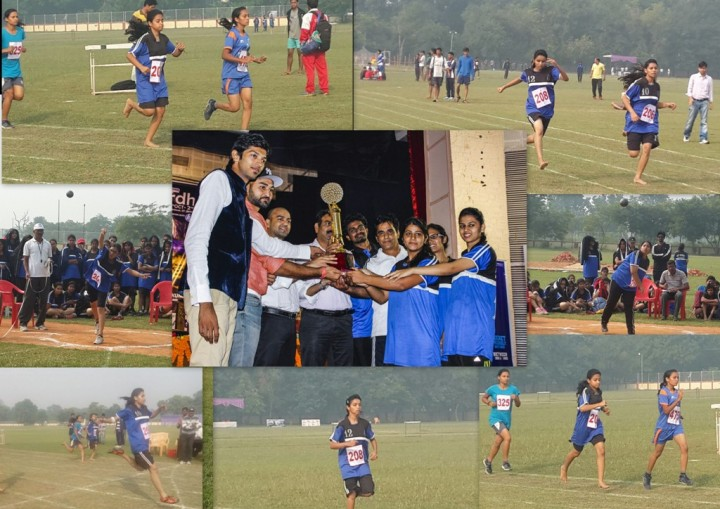 FET Annual sports meet awards athletics 720x509 Mody University Students shine in 30th All India Annual Sports Meet 2014