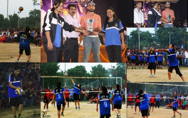 Fet Annual sports meet winners 2014 volley1 720x450 Mody University Students shine in 30th All India Annual Sports Meet 2014