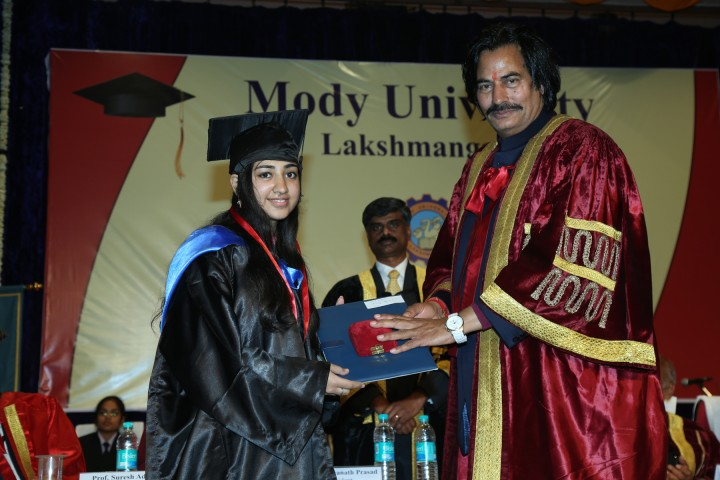 FDC Convocation 720x480 Ninth Convocation Ceremony of Mody University