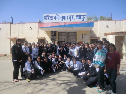 Visit to Women Reformative Home, Central Jail, Jaipur (Raj.) on 14 February 2015