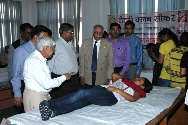 IMG 6558 copy 720x480 Blood Donation Camp at COBMEC