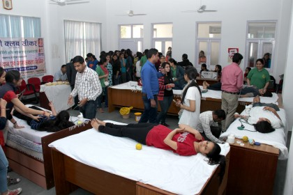 Blood Donation Camp at COBMEC