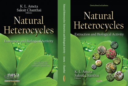 New book Natural Heterocycles: Extraction and Biological Activity has been published