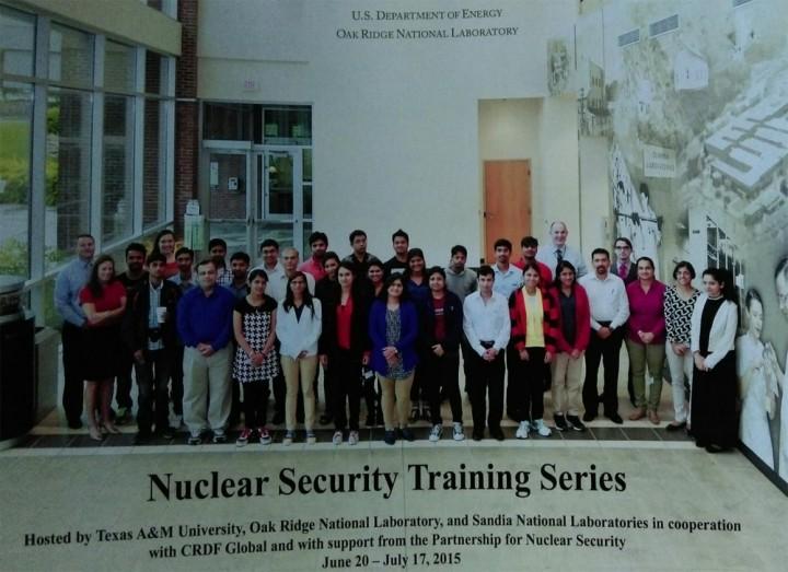 Nuclear Security Program 720x523 Mody University students participated in Nuclear Security Program
