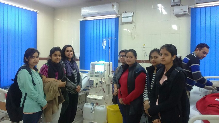 IMG 20160217 WA0008 720x405 1st Year Biomedical Engineering Students visit to S. K. Hospital, Sikar