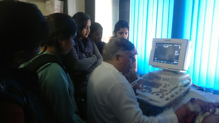 IMG 20160217 WA0015 720x405 1st Year Biomedical Engineering Students visit to S. K. Hospital, Sikar