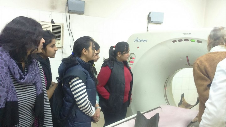 IMG 20160217 WA0016 720x405 1st Year Biomedical Engineering Students visit to S. K. Hospital, Sikar