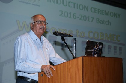 Orientation Program of COBMEC Batch 2016-17