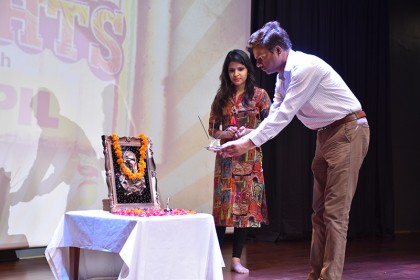 Teacher's day celebrated at COBMEC