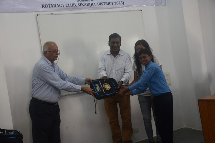 DSC 0907 720x480 Celebration of International Literacy Day by Rotaract Club, Mody University, Lakshmangarh