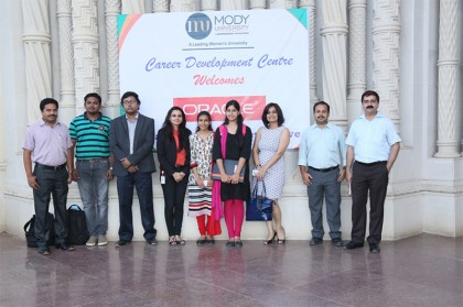Placements Galore at Mody University, Lakshamangarh – Oracle Campus Recruitment Process
