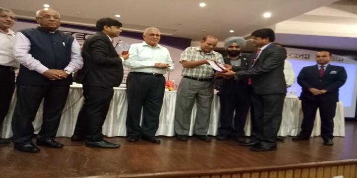 Prof.Dr .V.K.ain 1 720x360 Prof. (Dr.) V. K. Jain, Dean, CET has been conferred upon 'Siksha Gaurav Puruskar 2016'