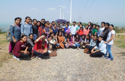 Wind Power Plant Visit by Electrical Engineering Students