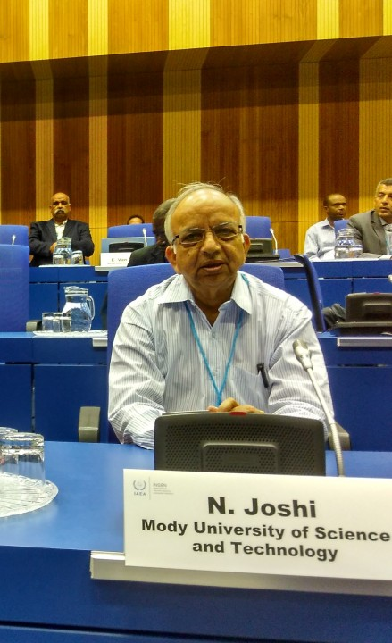 iaea 1 439x720 Prof. N. K. Joshi invited to IAEA, Vienna