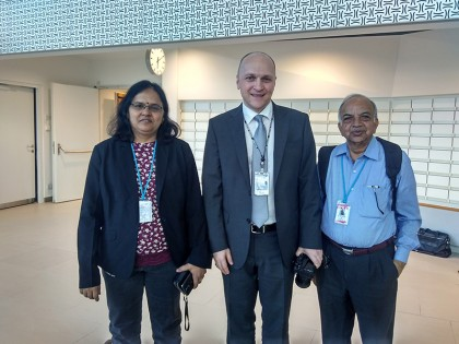 Prof. N. K. Joshi invited to IAEA, Vienna