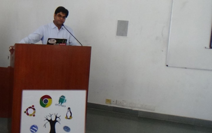 Free Open Source 4 720x452 One day Workshop on Free Open Source Software at Mody University, Lakshmangarh