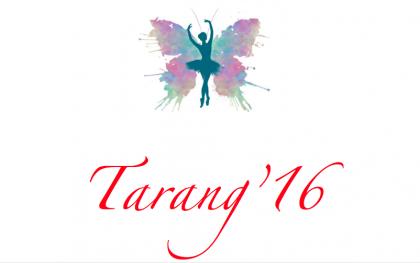 Tarang 2016 : Organized by Mrida, COBMEC