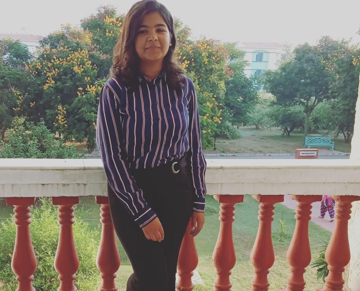 Jahnavi Sharma 1st Prize  Mody University Janhvi Stands Winner in CodinGo   an Online Coding Competition