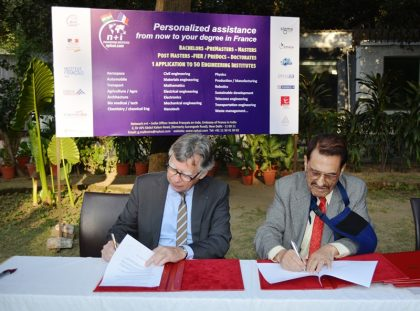 Mody University signed a MOU with Network n+i, France
