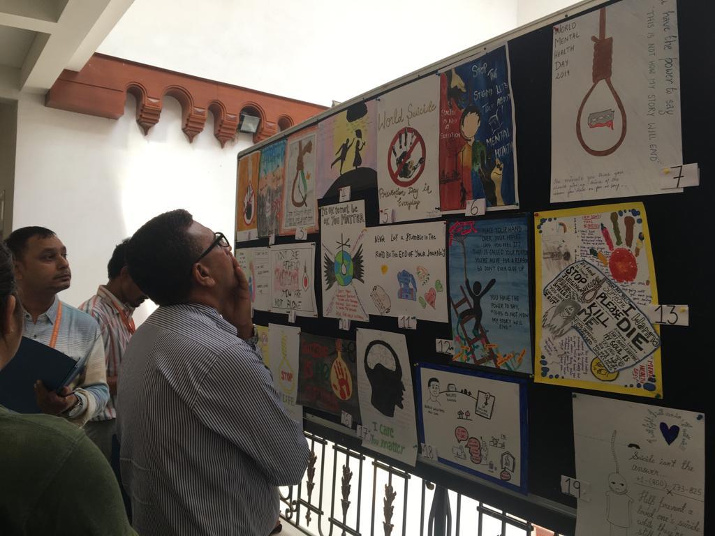 World Mental Health Day Celebrated at Mody University