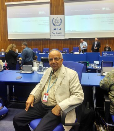 Prof. Joshi from Mody University visited IAEA, Vienna