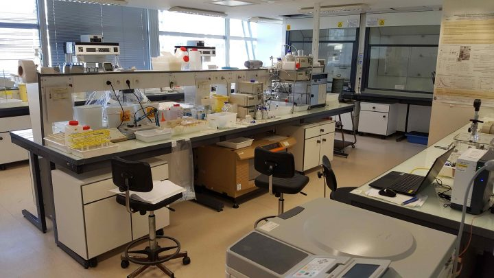 Surveilled radiochemistry zone 720x405 Mody University collaborates with IMT, Atlantique, France
